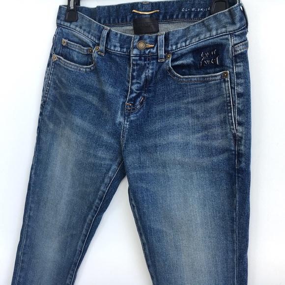 7b61d251fb SALE 💕 Saint Laurent YSL skinny jeans 26/27